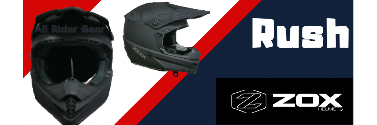 all rider gear zox rush off road  helmet