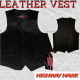 Highway Hawk Men Leather Vest