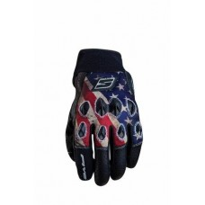 Five 5 Stunt Replica Gloves American Flag