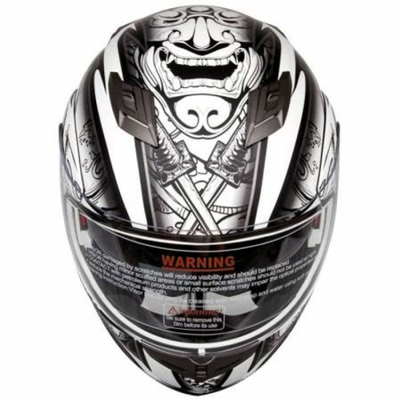 iV2 953 Modular Dual Visor Motorcycle Helmet DOT Demon  : 00f0ffEcHhAdnB8l600x450 800x800 <strong>Silver</strong> Tribal Motorcycle Helmet from allridergear.com size 800 x 800 jpeg 123kB