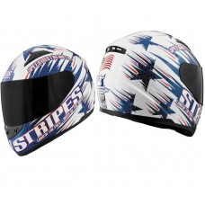 Speed and Strength SS1100 USA Full Face Motorcycle Helmet DOT STARS AND STRIPES