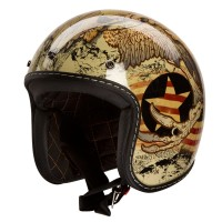 IV2 Retro 3/4 Style HY 819 Antique motorcycle helmet