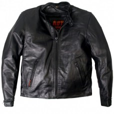 Hot Leathers leather motorcycle jacket