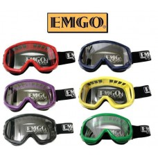 Emgo Sport ADULT Mirrored Goggles Multiple Assorted Colors White Black Blue Red Green Purple