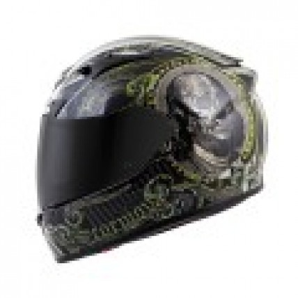 Scorpion EXO-R710 ILLUMINATI motorcycle helmet black DOT SNELL