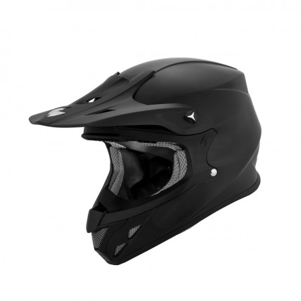 Scorpion VX-R70 off-road helmet white black matte black