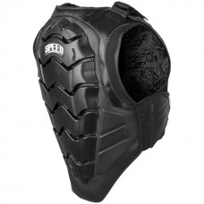 Speed and Strength Lunatic Motorcycle Vest Armor Protection w/ LED Lights