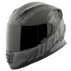 Speed and Strength ss1310 quick and the dead black yellow red Motorcycle helmet DOT