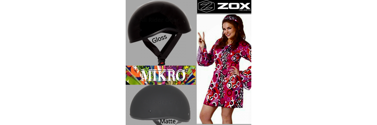 All Rider Gear Zox Mikro matte black
